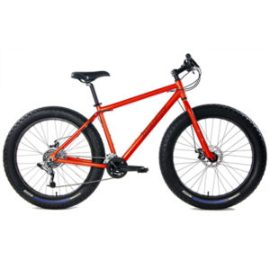 Aluminum Fat Bikes with Powerful Disc Brakes