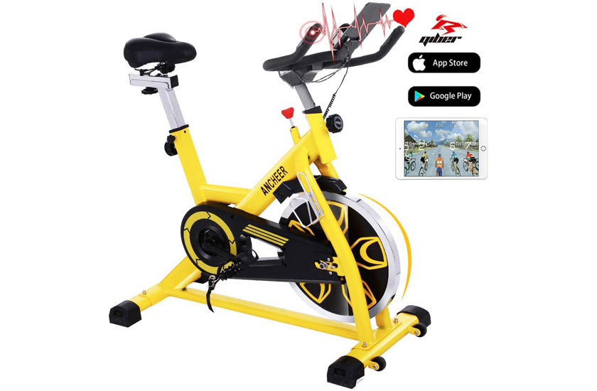 ANCHEER Indoor Cycling Bike, Stationary Exercise Bike