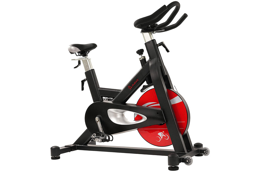 Sunny Health & Fitness SF-B1714 Magnetic Belt Drive Indoor Cycling Bike