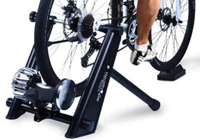 HEALTH LINE PRODUCT Fluid Indoor Fluid Bicycle Exercise Trainer