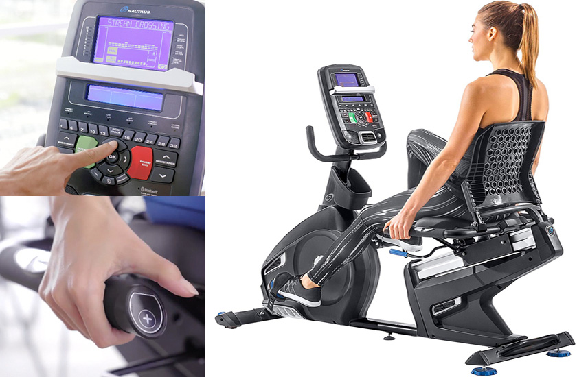 Nautilus R618 Recumbent Bike picture