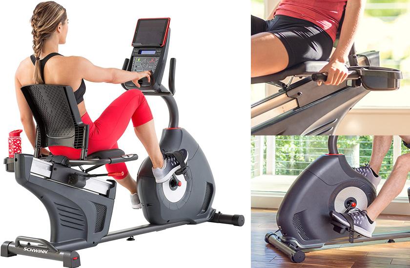 Schwinn 270 Recumbent Bike - Best Recumbent Exercise Bike for women