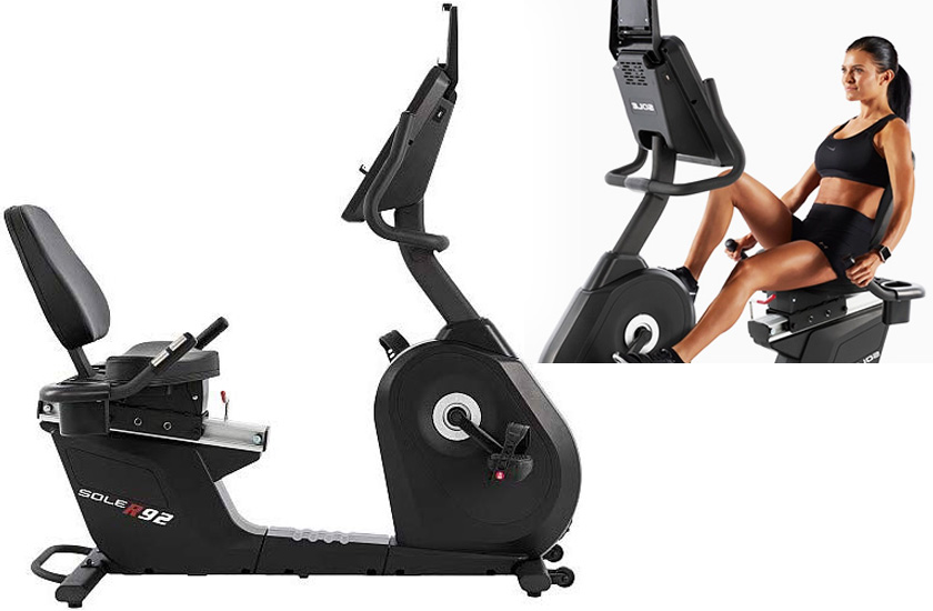 Sole R92 Recumbent Bike picture